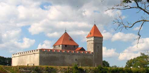 A small castle from the town I am from - Kuressaare