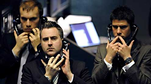 Sad Guys on Trading Floors