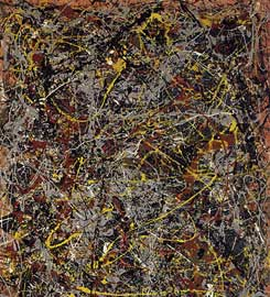 Jackson Pollock - No 5 - The most expensive painting in the world