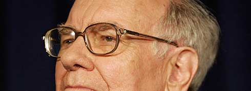 Warren Buffet - the second richest man in the world in 2009 but the richest man in 2009