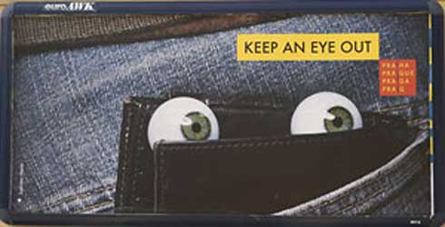keep an eye out for pickpockets