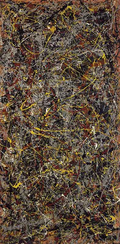 Pollock no 5. 1948 - the most expensive painting in the world