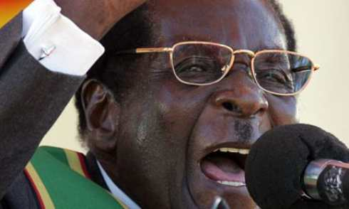 Robert Mugabe - president of Zimbabwia and the mastermind behind the hyperinflation in Zimbabwia