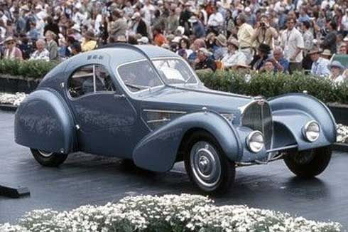 Most Expensive Car in the World 2010 - Bugatti 57SC Atlantic